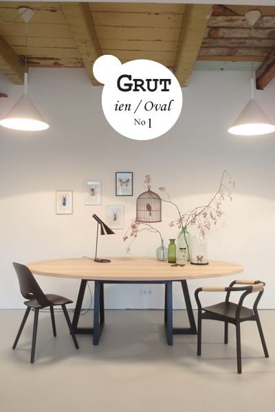 Hagel nieuw / Oval Grut 1! | Jan de Jong Interieur