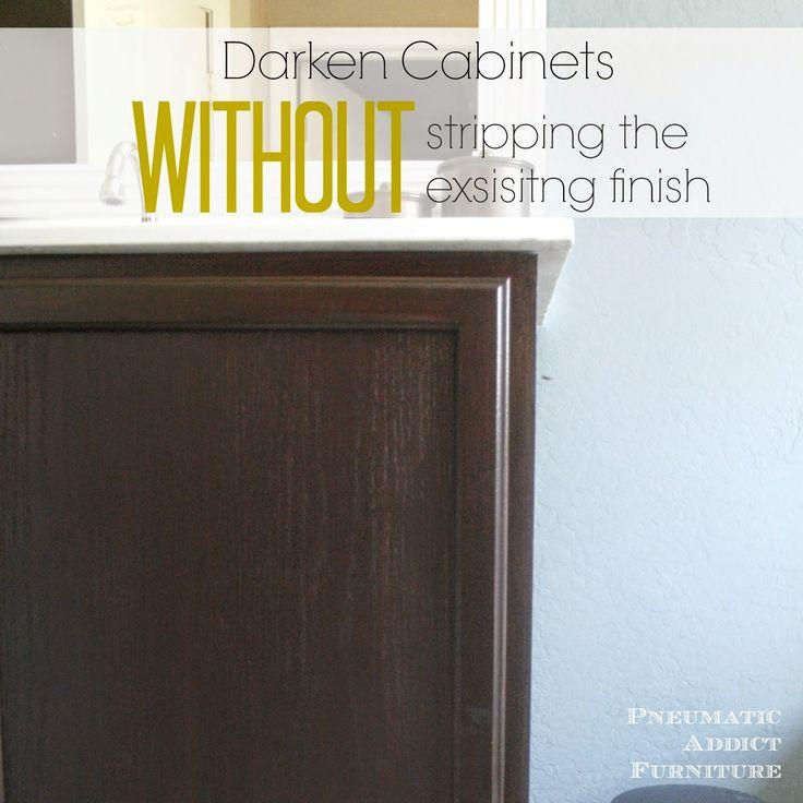 16 Best Restain Kitchen Cabinets Images On Pinterest