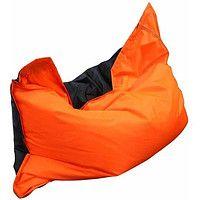 Кресло-мешок подушка Нейлон Оранжевый-Черный