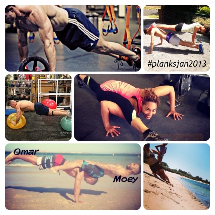 1000 images about planks challenge planksjan2013 on for Plank workout results