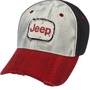 Frayed Vintage Jeep Washed Cap
