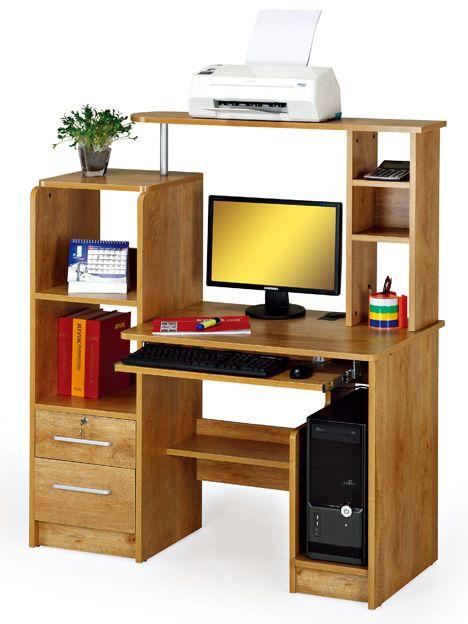 Las 25 mejores ideas sobre muebles para computadora en for Muebles para oficinas pequenas