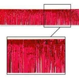 "Red Fringe, 15' x 10"" | 1 ct - $4.70"