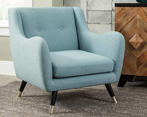 Menga Accent Chair Ashley Homestore Canada Blue Accent