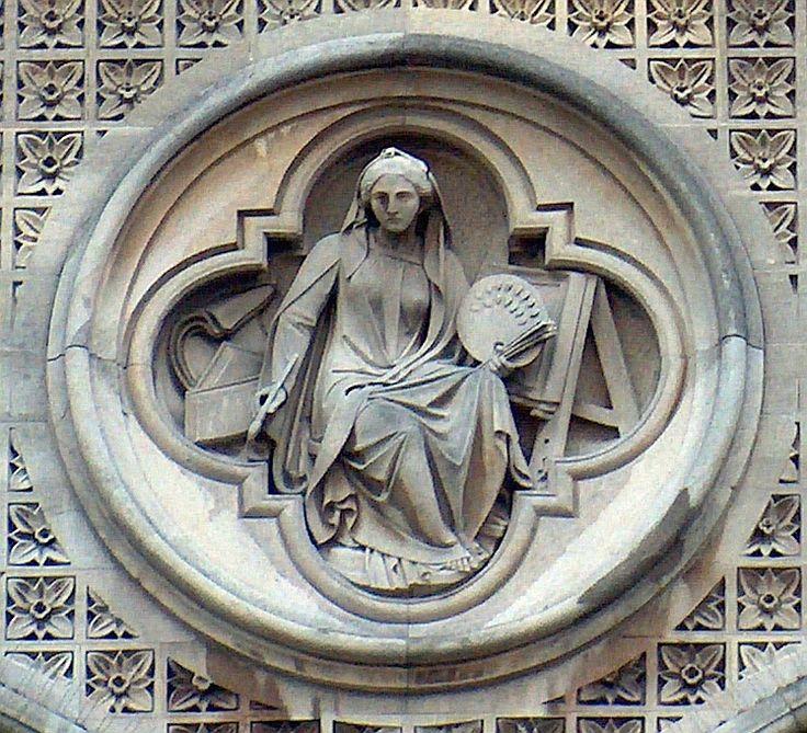 An Alphabet of Allegorical Sculpture - statues of Painting - Bob Speel's Website
