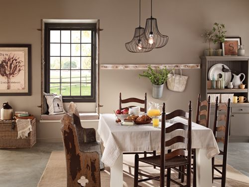13 bold paint colors you need to know about - Country Dining Room Color Schemes