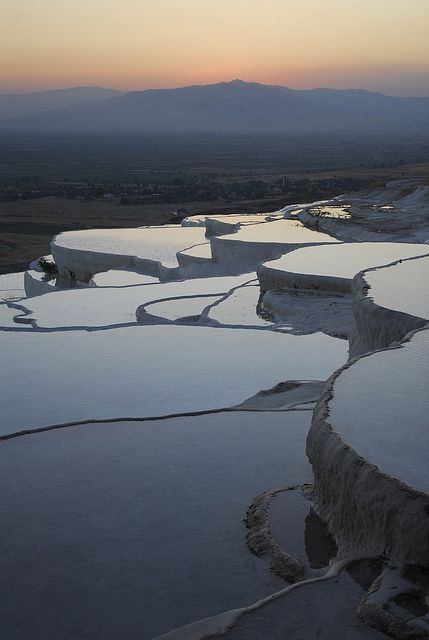 "Pamukkale, Turkey. ""Cotton Castle"""
