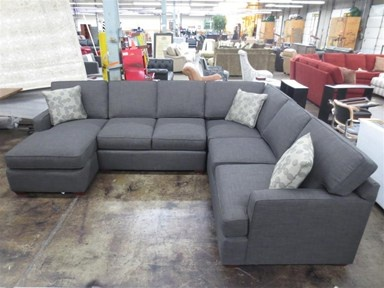 Shop for Clearance 3pc Dillon Sectional CEK29000ALS-224 and other Living Room Sectionals at Walter E. Smithe in 11 Chicagoland locations in Illinu2026 : charcoal sectional with chaise - Sectionals, Sofas & Couches