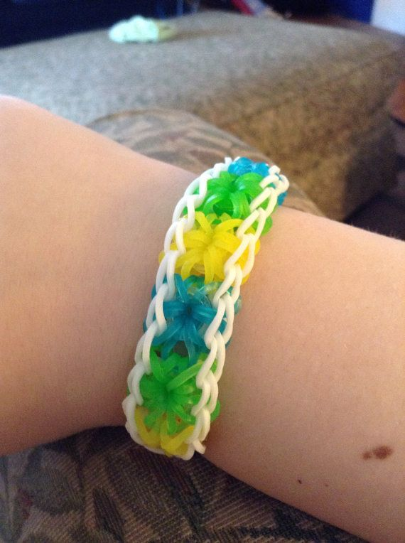 73 best images about rainbow loom rubber band starburst