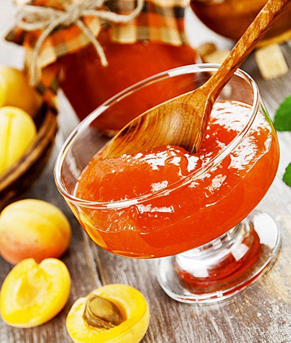 абрикосовый джем с имбирем