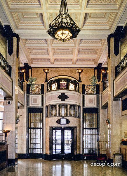 Lobby, Peace Hotel, Shanghai 1997