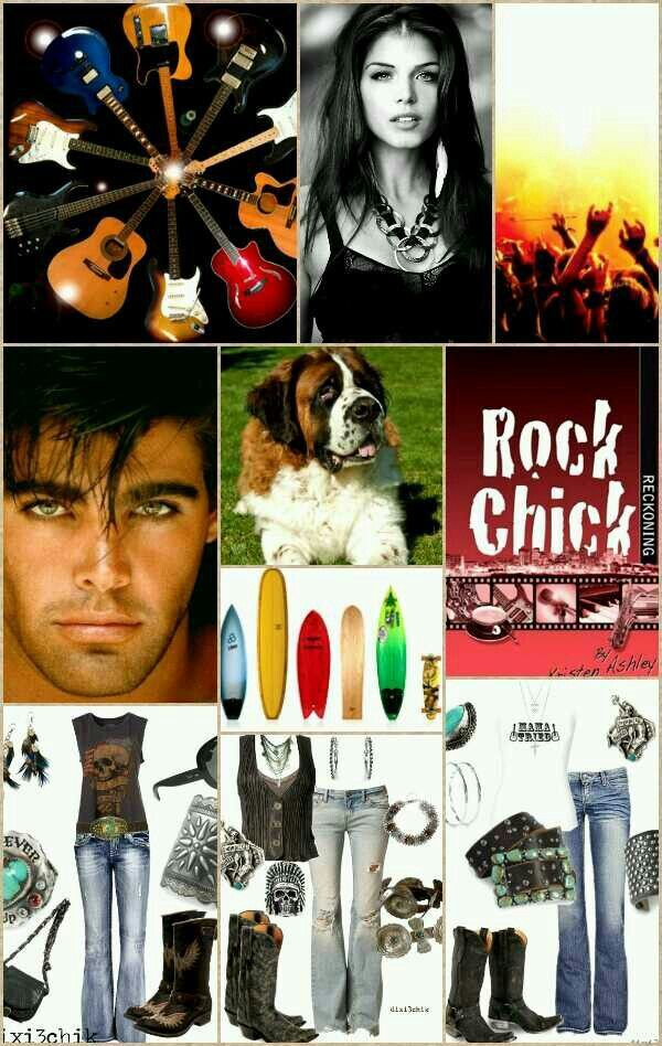 (Stella & Mace)  I Made this to entertain with at my Rock Chick series party. Righteous!
