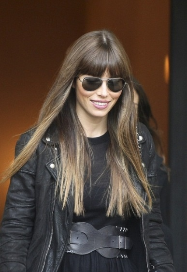 Jessica Biel...this may be my next hair color!