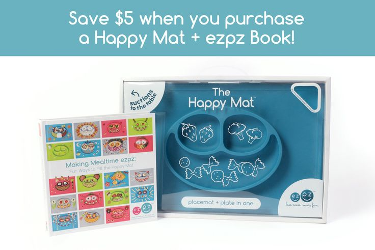 making mealtime ezpz book: fun ways to fill the happy mat