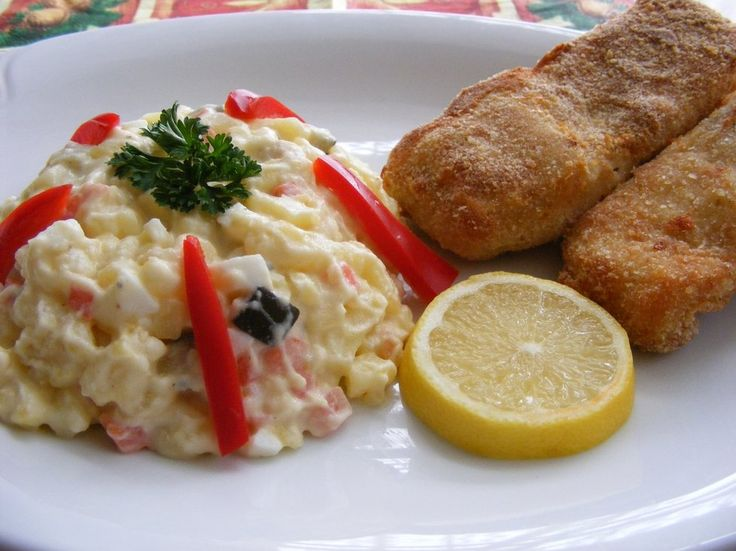A typical symbol of Czech Christmas, and an indispensable part of the festive table, is the Christmas carp. The Czechs even believe that if they put one of its scales into their purses, they will have enough money for the following year. Today's Christmas dinner consists of fish soup and fried Christmas carp served with potato salad.