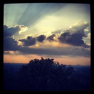 #mylalicious (Myla Radicchia) #Instagram #Gramfeed #joburg #sunset #sunrays #clouds #southafrica