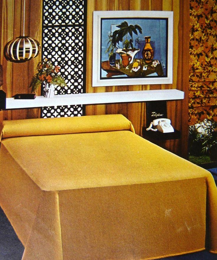 167 Best Retro Mid Century Bedrooms Images On Pinterest