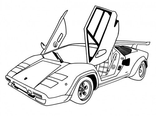dune buggy racer coloring pages - photo#11