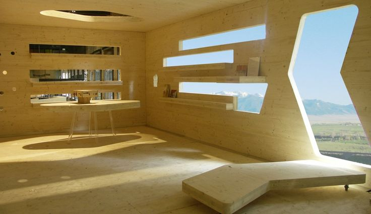 Wood Blocks, from dRMM Architects.