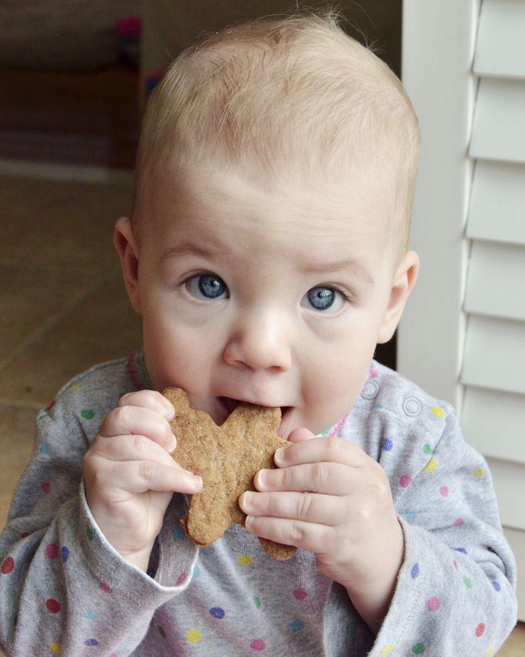 Teething cookies