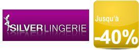 Shopping: Soldes Silver Lingerie jusquà -40%