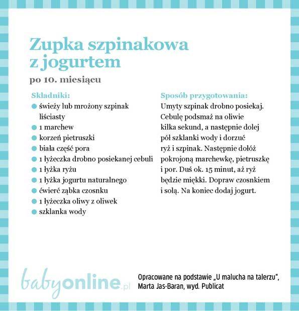 Przepisy dla niemowlaka - Zupki dla niemowlaka | Strona 20 | Baby online