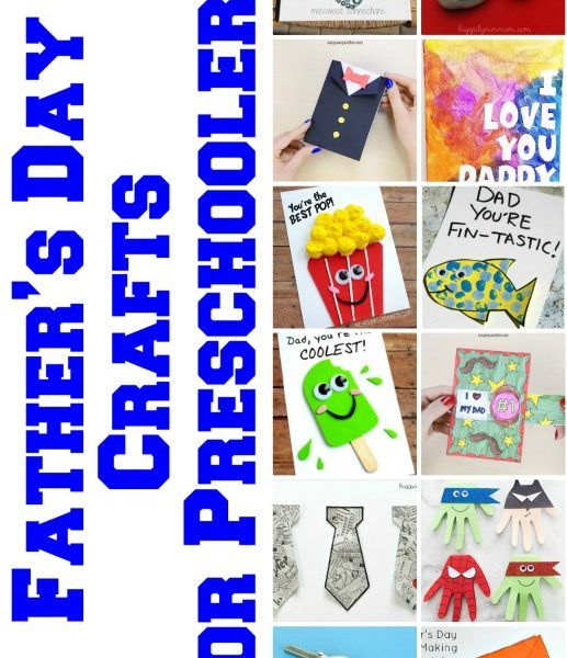 31 Best Father's Day Crafts for Preschoolers To Try Last Minute
