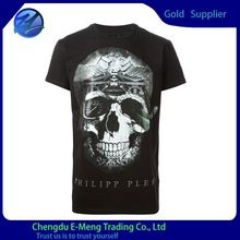 Cotton polyester made t-shirts with face print,skeleton printing  best buy follow this link http://shopingayo.space