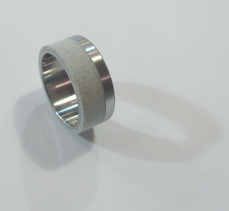 a new 10mm wide concrete and stainless steel ring, to be launched in the new year.