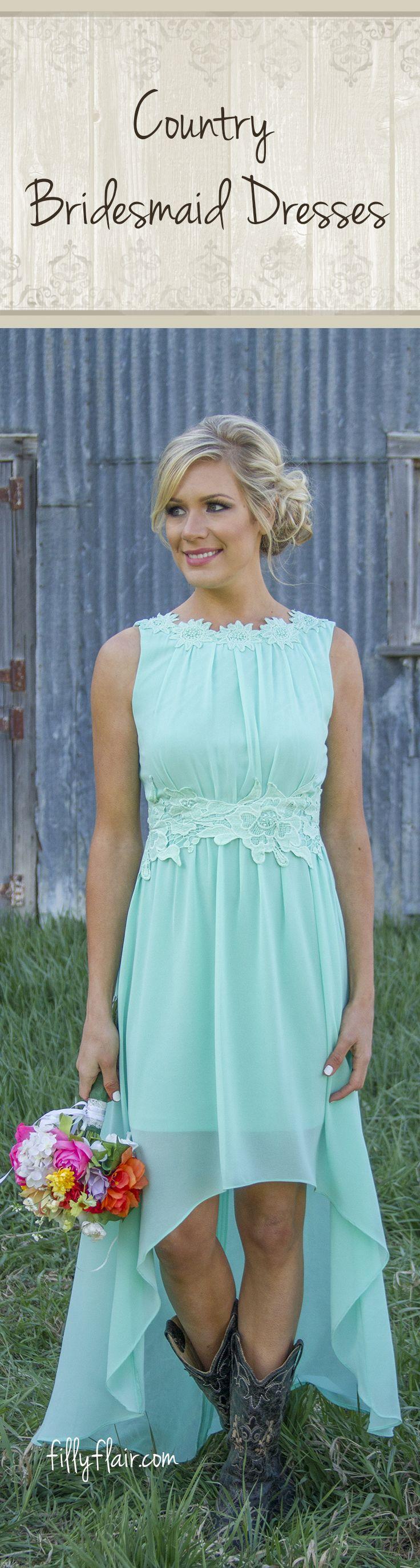 262 best Bridesmaid/maid of honour dress ideas images on Pinterest ...