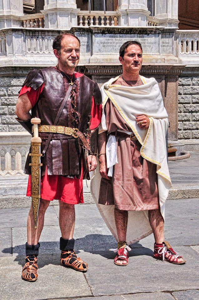 roman protector and authority.Photo of Maurilio Fossati