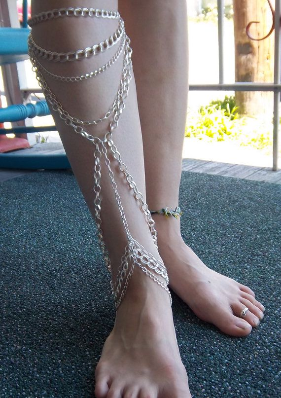 1000 Ideas About Leg Chain On Pinterest Body Chains