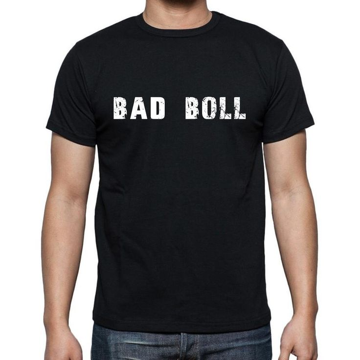 bad boll, Men's Short Sleeve Rounded Neck T-shirt