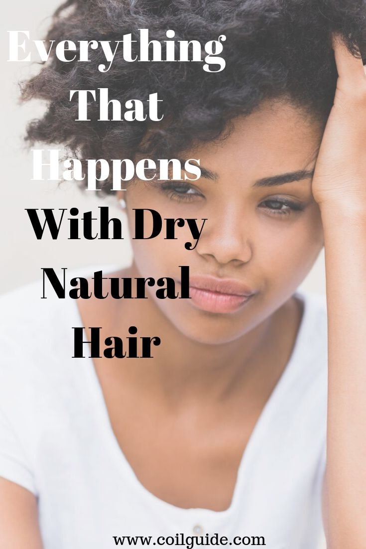 Everything That Happens With Dry Natural Hair
