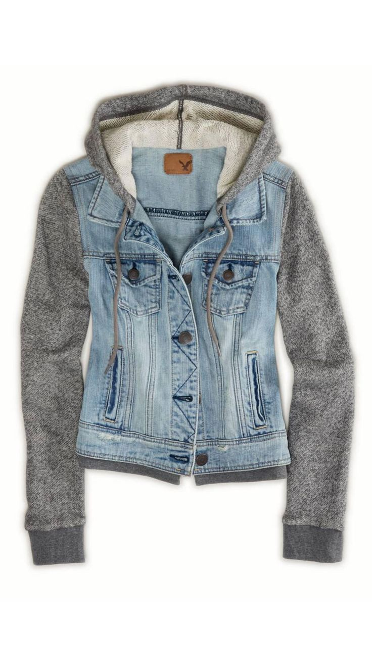 25  best Cute jackets ideas on Pinterest | Jean jacket hoodie ...