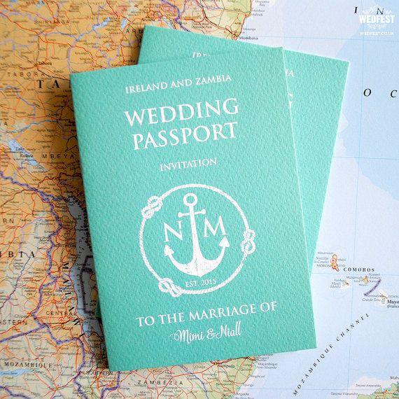 Best 25+ Passport wedding invitations ideas on Pinterest ...