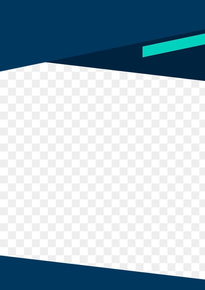 Blue Frame Transparent Background Png For Corporate Business Free Image By Rawpixel Com Marinemynt Creative Cv Transparent Background Blue Frames