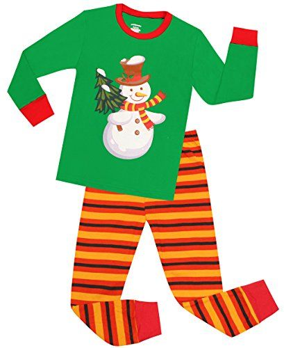 Kids Pajamas Hop Girls Snowman Pajamas Kids Cotton Pjs Set Christmas  Childrens Sleepwears Toddler debde4b63