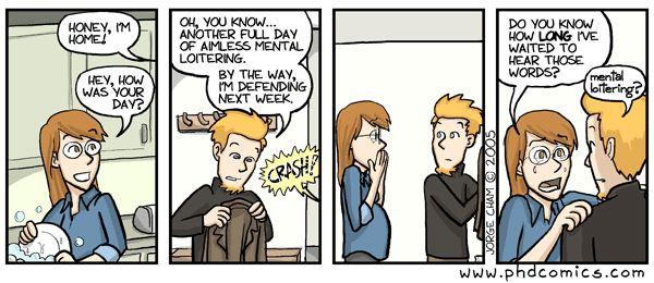 Phd comics thesis gut
