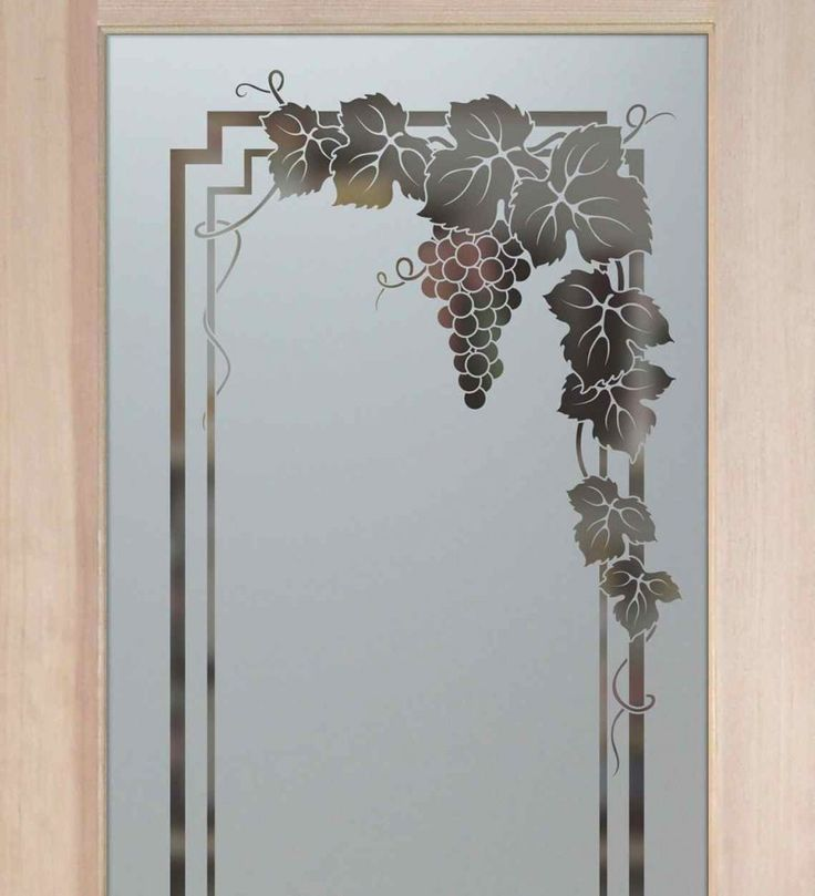 Vineyard Grapes Garland Pantry Door   Sandblasted Etched Glass Pantry Door  By Sans Soucie Art Glass. So Excited To Get This! Part 62