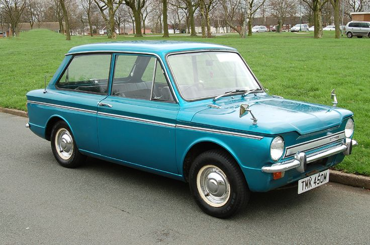 Hillman Imp again not flash but a lovely little thing with character. First set of wheels