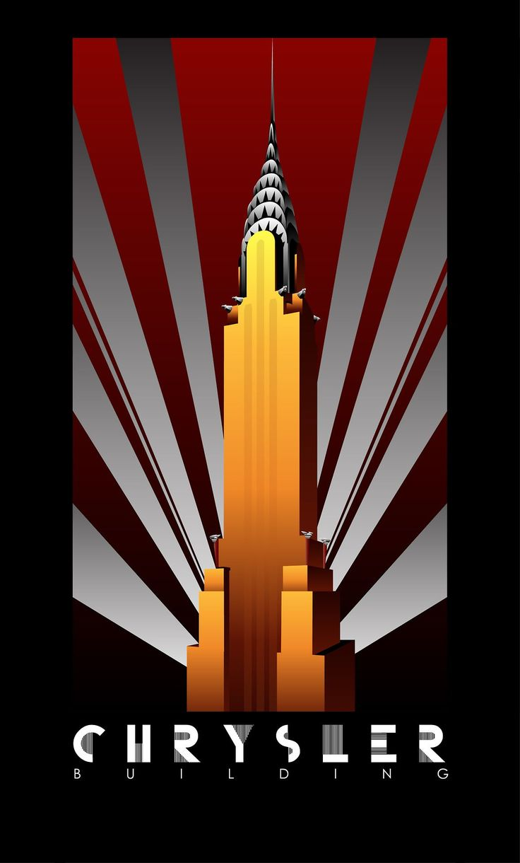 Art Deco posters celebrating the Big Three of Gotham City