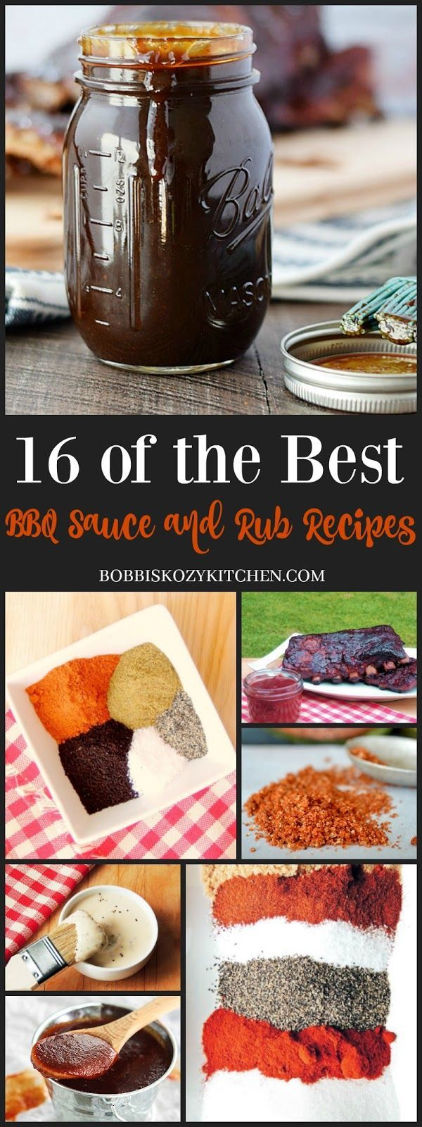 cool 16 of the Best BBQ Sauce and Rub Recipes from www.bobbiskozykit......by http://dezdemooncooking.gdn