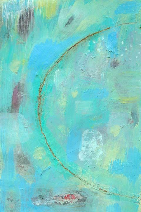 September 13 - acrylic and a wee bit of glitter  www.susan-mitchell.com