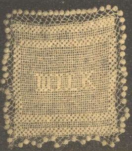 filet crochet pattern for a milk jug cover, which is sold on Etsy byVintageKnitPatterns. It was published in 1932 in The Weekly Times.