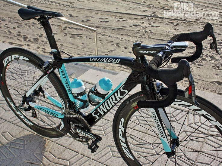 Pro bike: Mark Cavendish's Specialized S-Works Venge - Nearly everything pictured here is carbon fiber