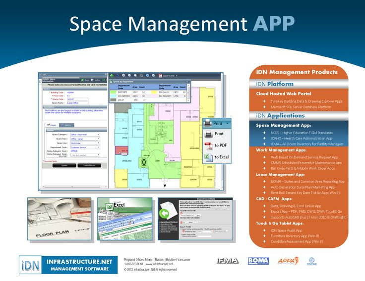 iDN Space Management Software