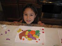 Mosaic Cornucopia Craft   Confessions of a Homeschooler