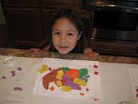 Mosaic Cornucopia Craft | Confessions of a Homeschooler