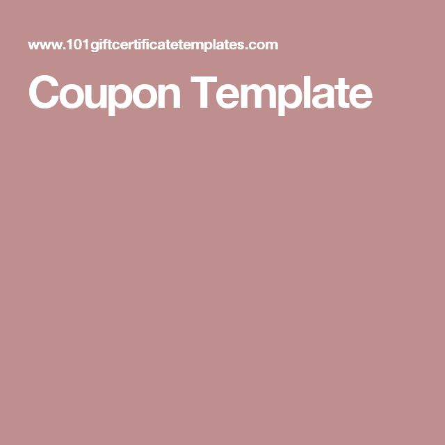 Best 25+ Coupon template ideas on Pinterest Coupon books for - coupon templates free